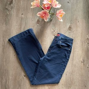 7FAM / HIGH RISE GINGER FLARE STRETCH JEANS